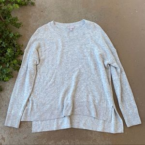 Chelsea 28 Nordstrom Gray High Low Sweater